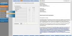 Dateneingabe Bewerbungsschreiben