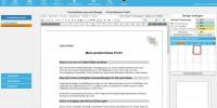 Bewerbung, Persönliches Profil, Dritte Seite